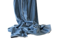 LivingStyles Rodeo Luxury Velvet Throw, 145x250cm, Ocean