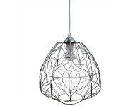 LivingStyles Piper Metal Wire Pendant Light, Small