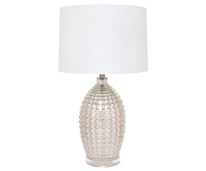 Tabitha Mercury Glass Base Table Lamp