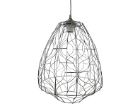 LivingStyles Piper Metal Wire Pendant Light, Large