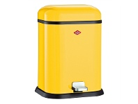 Wesco Single Boy Steel 13L Disposal Bin - Lemon Yellow