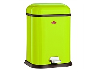 Wesco Single Boy Steel 13L Disposal Bin - Lime Green
