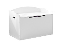 LivingStyles Kidkraft Austin Toy Box - White