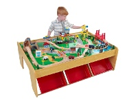 LivingStyles Kidkraft Waterfall Mountain Train Set (120 pc)