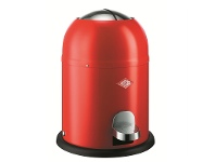 LivingStyles Wesco Single Master Steel 9L Disposal Bin - Red