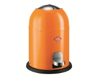 LivingStyles Wesco Single Master Steel 9L Disposal Bin - Orange