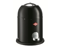 Wesco Single Master Steel 9L Disposal Bin - Black