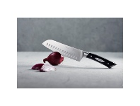 LivingStyles Scanpan Classic 18cm Santoku Knife with Granton Edge