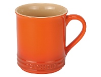 LivingStyles Chasseur La Cuisson Mug, 350ml, Orange