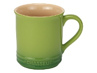 LivingStyles Chasseur La Cuisson Mug, 350ml, Apple Green
