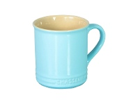 LivingStyles Chasseur La Cuisson Mug, 350ml, Duck Egg Blue