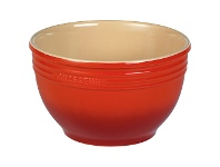 LivingStyles Chasseur La Cuisson Large Mixing Bowl - Red