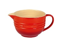 LivingStyles Chasseur La Cuisson Mixing Jug, Red