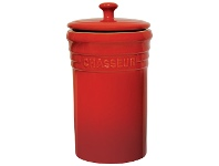 LivingStyles Chasseur La Cuisson Storage Jar - Red