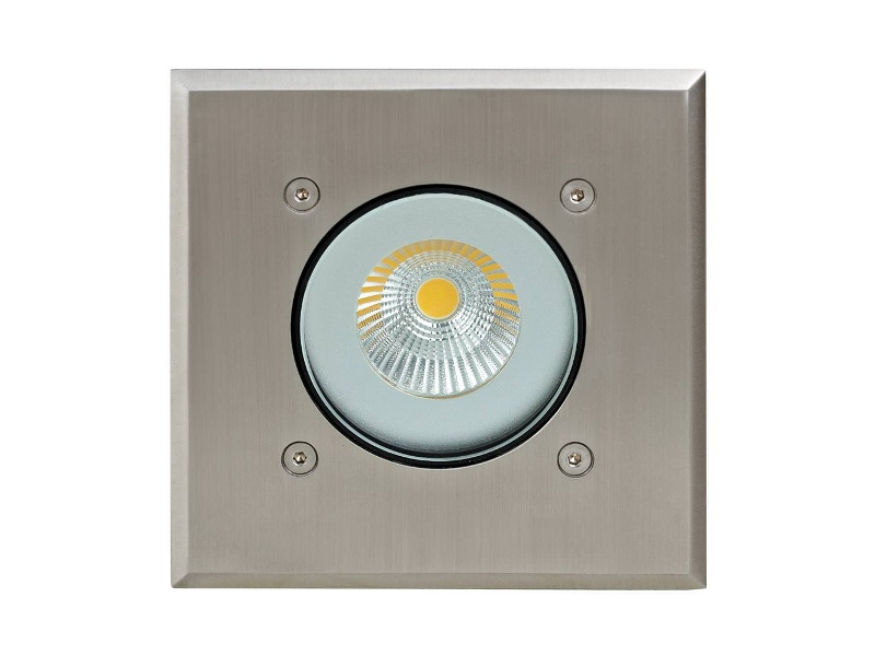 Modula IP65 Exterior LED Inground Light, 3000K, Square