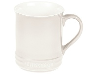LivingStyles Chasseur La Cuisson Mug, 350ml, Antique Cream