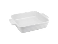 LivingStyles Chasseur La Cuisson 24cm Square Baking Dish - Antique cream
