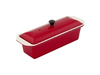 LivingStyles Chasseur Cast Iron Terrine, 28cm, Federation Red
