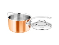 LivingStyles Chasseur Escoffier 20cm Saucepan with Lid and Helper Handle
