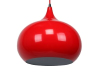 LivingStyles Kirke Pendant Light - Flame Red