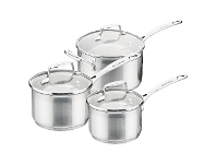 LivingStyles Scanpan Impact 3 Piece Saucepan Set
