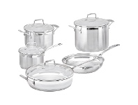 LivingStyles Scanpan Impact 5 Piece Cookware Set with Stockpot