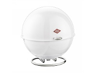 LivingStyles Wesco Superball Steel Storage Container - White