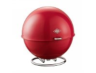 LivingStyles Wesco Superball Steel Storage Container - Red