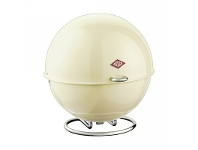 LivingStyles Wesco Superball Steel Storage Container - Almond