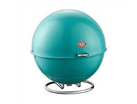 LivingStyles Wesco Superball Steel Storage Container - Turquoise