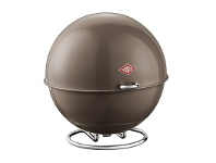 LivingStyles Wesco Superball Steel Storage Container - Warm Grey