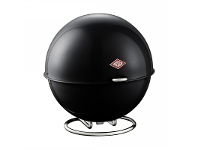 LivingStyles Wesco Superball Steel Storage Container - Black