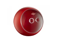 LivingStyles Wesco Spacy Ball Steel Storage Container - Red