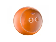 LivingStyles Wesco Spacy Ball Steel Storage Container - Orange