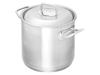 LivingStyles Scanpan Commercial 24cm/8.5L Stockpot with Lid