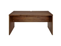 LivingStyles Teresa Large Work Desk, 150cm, Antique Oak