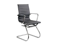 LivingStyles Eames Replica Synthetic Leather Office Chair