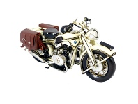 LivingStyles Boutica Handmade Tin Motorcycle Model - BMW 1932 Series II
