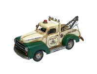 LivingStyles Boutica Handmade Tin Tow Truck Modle