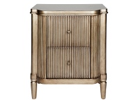 LivingStyles Arielle 2 Drawer Bedside Table