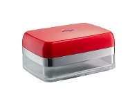 LivingStyles Wesco Aluminium Butter Dish - Red