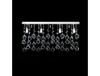 LivingStyles Starlight Crystal LED Ceiling Light, 60cm
