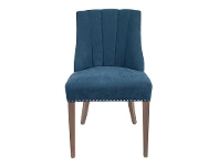 LivingStyles Stanton Fabric Dining Chair, Blue