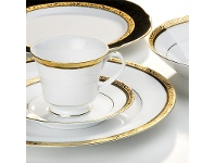 LivingStyles Noritake Regent Gold Fine China Tea Cup with Saucer