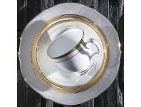 LivingStyles Noritake Hampshire Gold Fine China Accent Plate