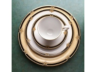 LivingStyles Noritake Braidwood Fine China Teacup and Saucer Set