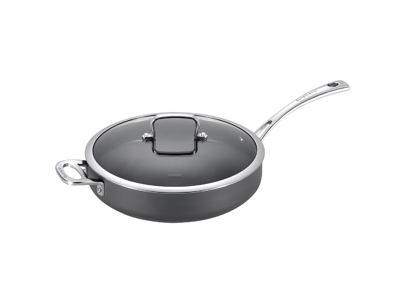 Cuisinart Chef iA+ Non-stick 30cm Saute Pan with Helper Handle and Lid