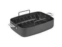 LivingStyles Cuisinart Chef iA+ Non-stick 39x28cm Roasting Pan with Rack