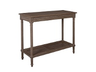 LivingStyles Polo Wooden 110cm Console Table - Oak Wash