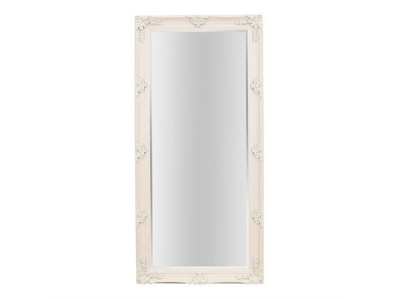 Arley Leaner Mirror, 165cm, Cream